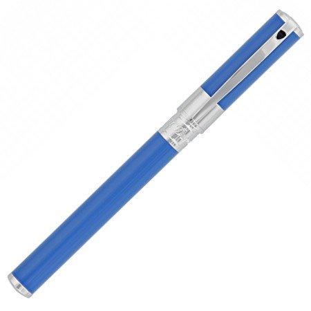 デュポン 万年筆 D-イニシャル 260216 ライトブルー&クローム02