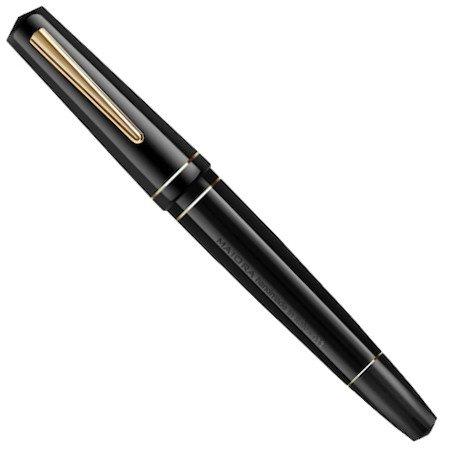 マイオーラ 万年筆 インプロンテ ミラーブラック オーバーサイズ02