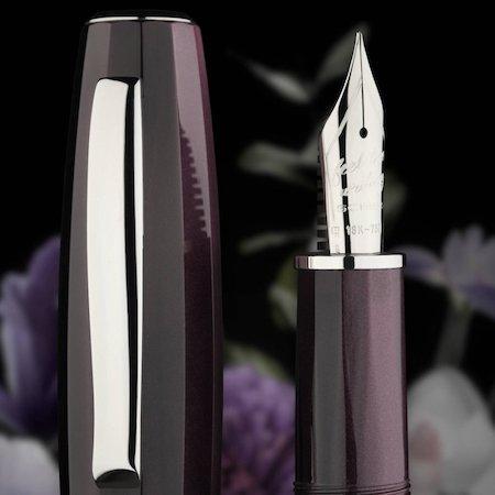 スクリボ 限定生産品 フィール ヴィオラ 万年筆 18金ニブ SCRIBO Feel Viola Fountain Pen02