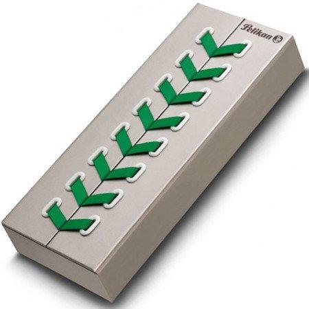 ペリカン 万年筆 スーベレーン605 グリーンホワイト 特別生産品03