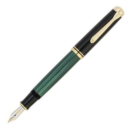 ペリカン 万年筆 スーベレーン600シリーズ M600 緑縞04