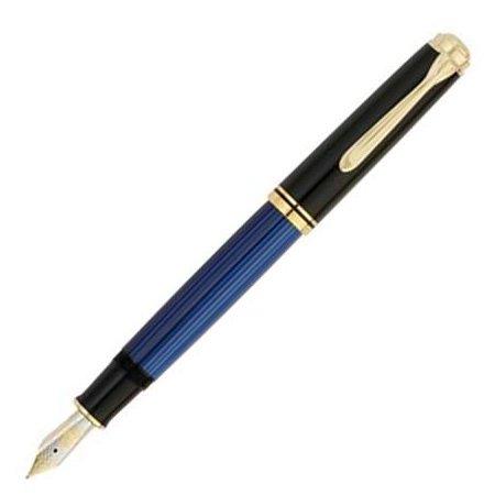 ペリカン 万年筆 スーベレーン800シリーズ M800 ブルー縞メインイメージ