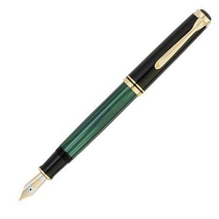 ペリカン 万年筆 スーベレーン800シリーズ M800 緑縞02