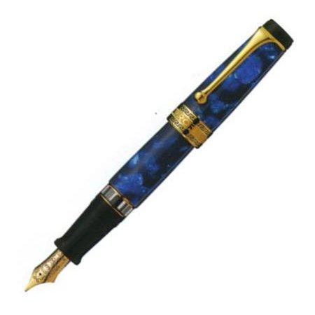 アウロラ 万年筆 オプティマ No.996/B ゴールド×ブルー02