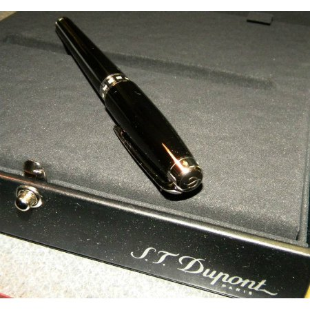 デュポン XL万年筆プレミアムコレクション481675M純正漆/パラディウムフィニッシュダイヤモンド04