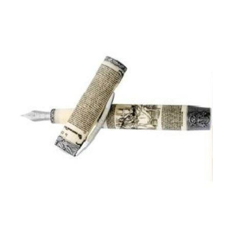 ビスコンティ 万年筆 限定品 独立宣言1776 V29052 シルバーメインイメージ