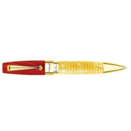 モンテグラッパ ボールペン 限定品 アルファロメオ ISARLBGR ゴールド04