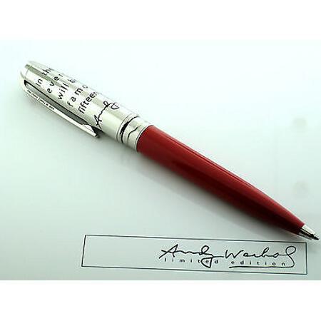 デュポン ボールペン&ペンシル 限定品 アンディ・ウォーホール エルヴィス(エルビス)・プレスリー02