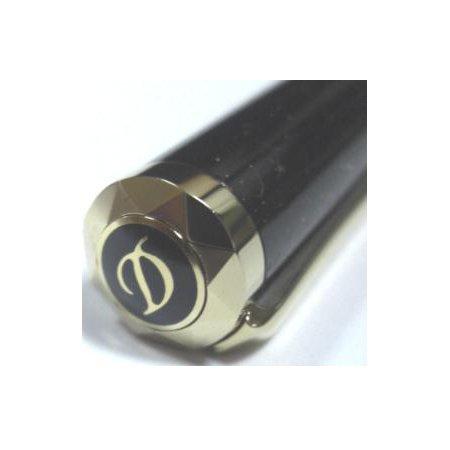 デュポン ボールペン ミニ・リベルテ ブラック×ゴールド02