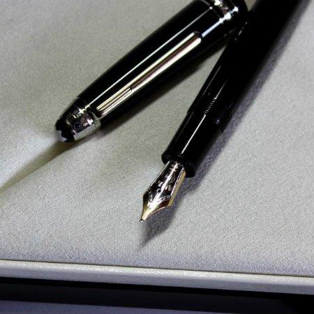 モンブラン 万年筆 特別生産品 ユニセフ2013 シグニチャー・フォー・グッド ル・グラン 14603