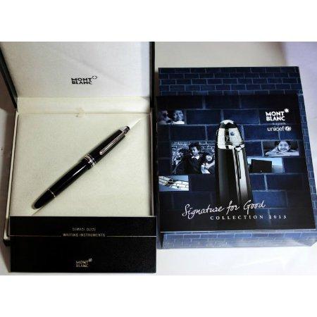 モンブラン 万年筆 特別生産品 ユニセフ2013 シグニチャー・フォー・グッド ル・グラン 14604