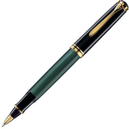 ペリカン ローラーボール スーベレーン800シリーズ R800 緑縞04