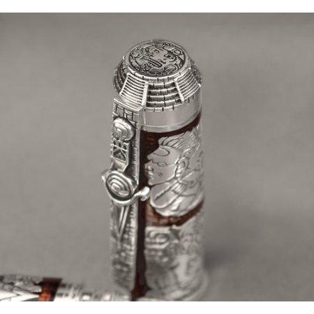 モンテグラッパ 万年筆 限定品 マヤ暦 ホワイト04