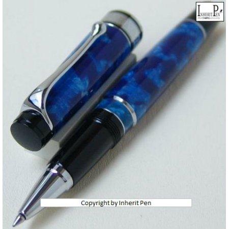 アウロラ ローラーボール オプティマ No.975_CBA ブルー02