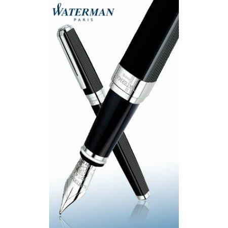 ウォーターマン 万年筆 エクセプション  ナイト&デイ ブラックST04