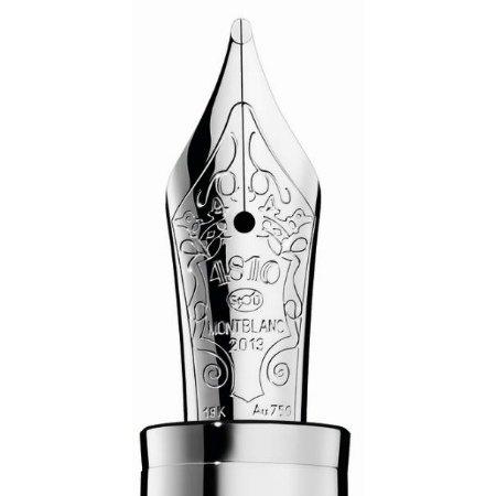 モンブラン 万年筆 限定品 パトロンシリーズ2013 ミラノ公ルドヴィーコ・スフォルツァ 481003