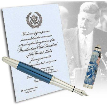 クローネ 万年筆 限定品 ジョン・F・ケネディ J.F. Kennedy02