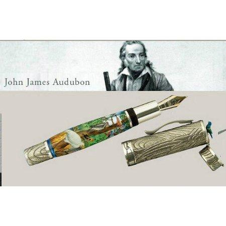 クローネ 万年筆 限定品 ジョン・ジェームズ・オーデュボン John James Audubon04