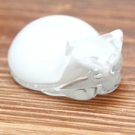 山田妙子作 ペン休め 猫(白)メインイメージ