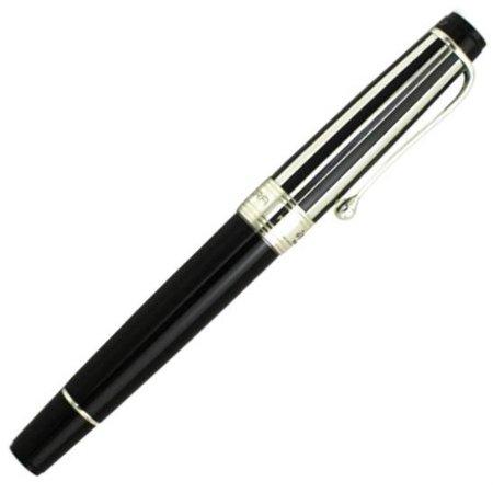 アウロラ ローラーボール 限定品 ユヴェントス(ユベントス)・オフィシャル・ペン ブラック02
