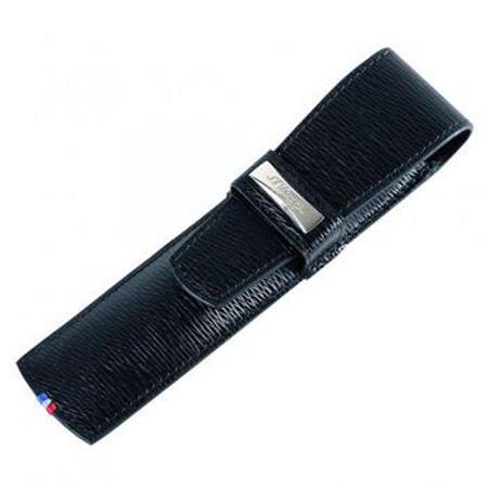 デュポン ペンケース ラインDエリゼ 180317 コントラストレザー ブラック 1本用02