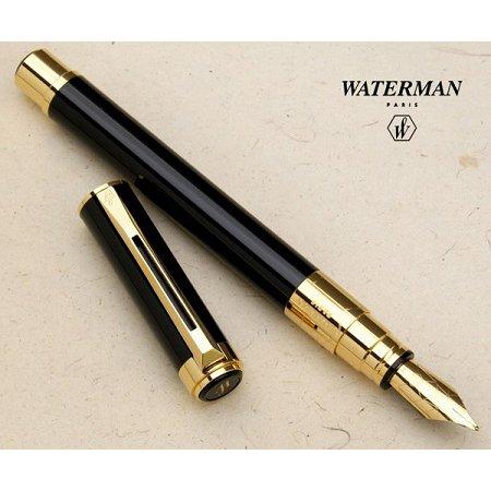 ウォーターマン 万年筆 パースペクティブ ブラック GT03