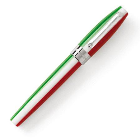 モンテグラッパ 万年筆 フォーチュナ トリコロール イタリアンカラー02