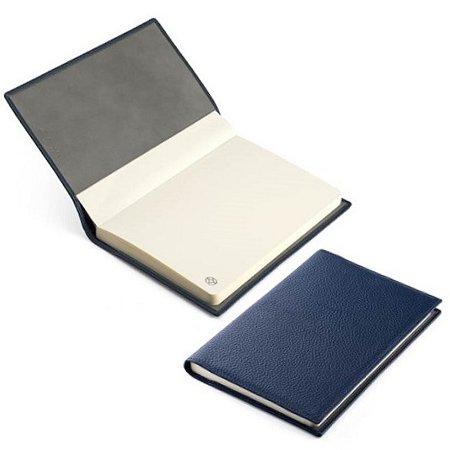 モンテグラッパ ノートブック カーフレザー ブルー A6007BJメインイメージ