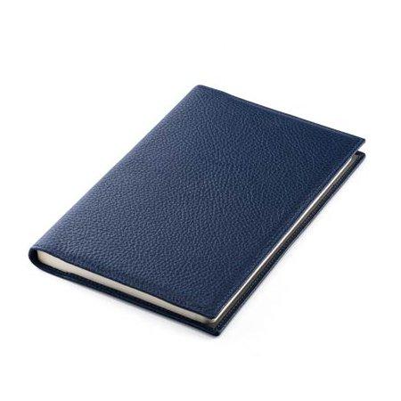 モンテグラッパ ノートブック カーフレザー ブルー A6007BJ02