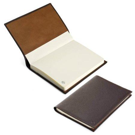 モンテグラッパ ノートブック カーフレザー ブラウン A6007MCメインイメージ