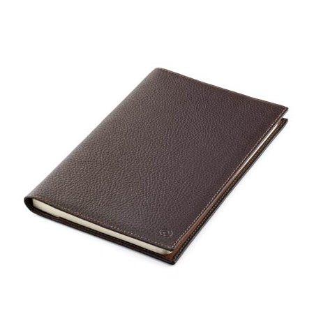 モンテグラッパ ノートブック カーフレザー ブラウン A6007MC02