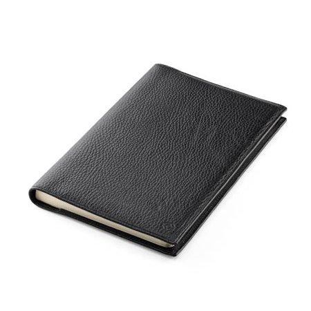 モンテグラッパ ノートブック カーフレザー ブラック A6007C102