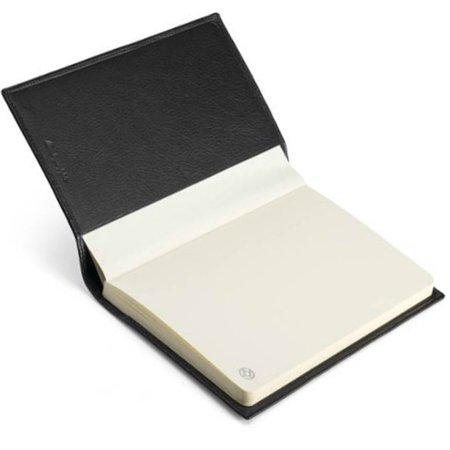 モンテグラッパ ノートブック カーフレザー ブラック A6007C103