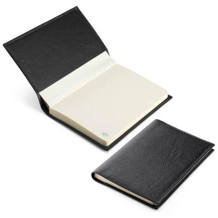モンテグラッパ ノートブック カーフレザー ブラック A6007C104