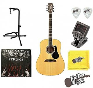 Alvarez Regent RD26 Dreadnought acoustic guitar w/Gig Bag, Strings,Picks and Moreギター