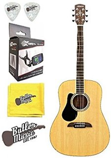 Alvarez RD26L Acoustic Left-Handed Dreadnought Size guitar w/Effin Tuner & Moreギター