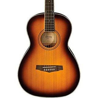 Ibanez PN15 Parlor Size Acoustic Guitar Brown Sunburstギター