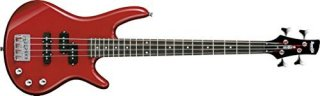 Ibanez GSRM20 Mikro Short-Scale Bass Guitar (Red)ギター