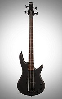 Ibanez Mikro GSRM20 BWK 3/4 Size Electric Bass Guitar - 4 Strings - Weathered Black ギター