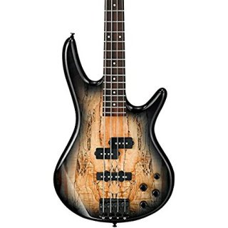 Ibanez GSR200SM 4-String Electric Bass Guitar, GSR4 Maple Neck, Rosewood Fretboard, ギター