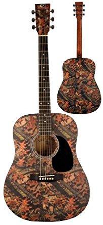 Mossy Oak 6 String Dreadnought Acoustic Guitarアコースティック