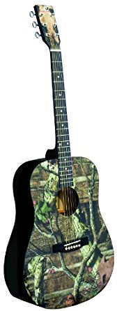 INDIANA Graphic Top MO-1 Acoustic Guitar - Mossy Oak Infinity Camouflageアコースティック