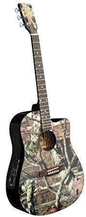 Mossy Oak Camo Acoustic-Electric Guitarアコースティック