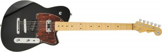 Reverend Buckshot Midnight Black Electric Guitar