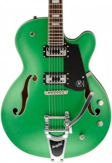 Reverend Pete Anderson Sig PA-1 RT Electric Guitar Satin Emerald Green Metallic