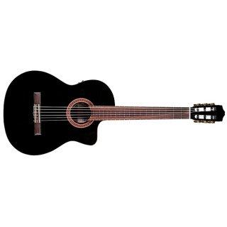 Cordoba C5CE-BK Iberia Series Acoustic-Electric Nylon-String Classical Guitar - Black ギター