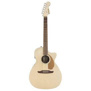 Fender Newporter Player Acoustic Electric Guitar in Champagne ギター