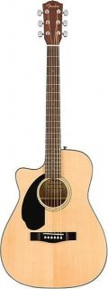 Fender CC-60SCE/LH Left Handed Acoustic-Electric Concert Guitar, Natural, NEW ! ギター