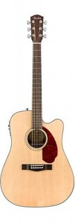 Fender CD-140SCE Acoustic-Electric Guitar - Natural ギター
