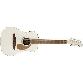 Fender California Series Malibu Player Acoustic-Electric Guitar Arctic Gold ギター